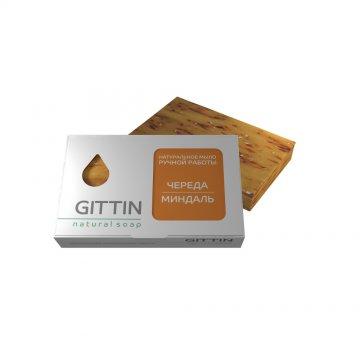 Натуральное мыло ручной работы Череда - миндаль